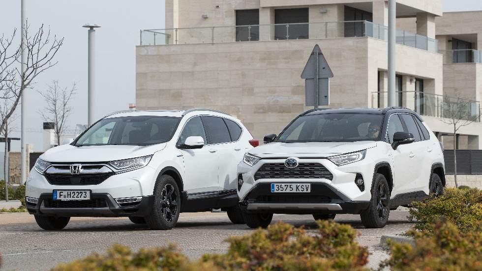 Honda CR-V Hybrid vs Toyota RAV4 Hybrid: en busca del mejor SUV híbrido