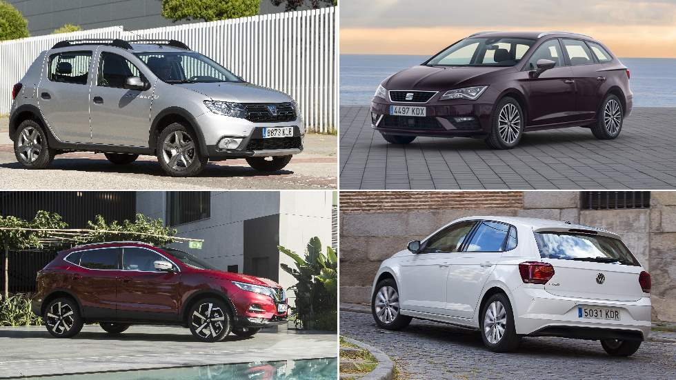 Los coches y SUV más vendidos en 2019: así están las ventas