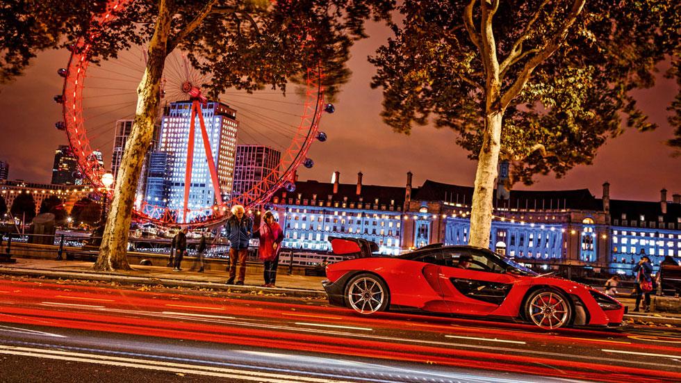McLaren Senna, cómo disfrutar de un gran deportivo por las calles de Londres