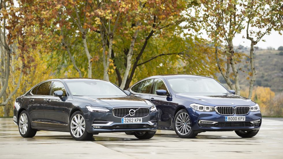 Comparativa BMW 620d Gran Turismo vs Volvo S90 D4, ¿qué berlina es mejor?