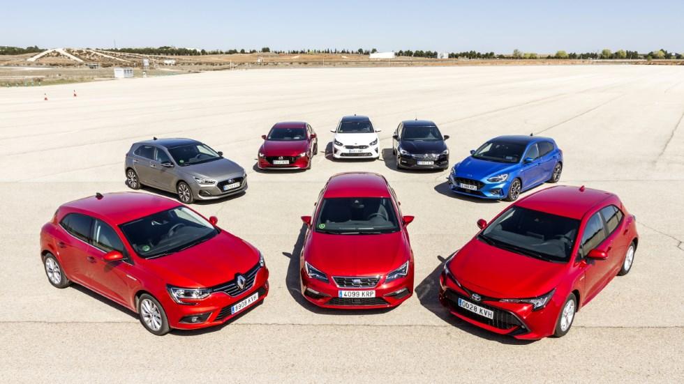¿El mejor compacto? Comparativa: León, Mégane, Mazda 3, Astra, Focus, i30, Ceed y Corolla