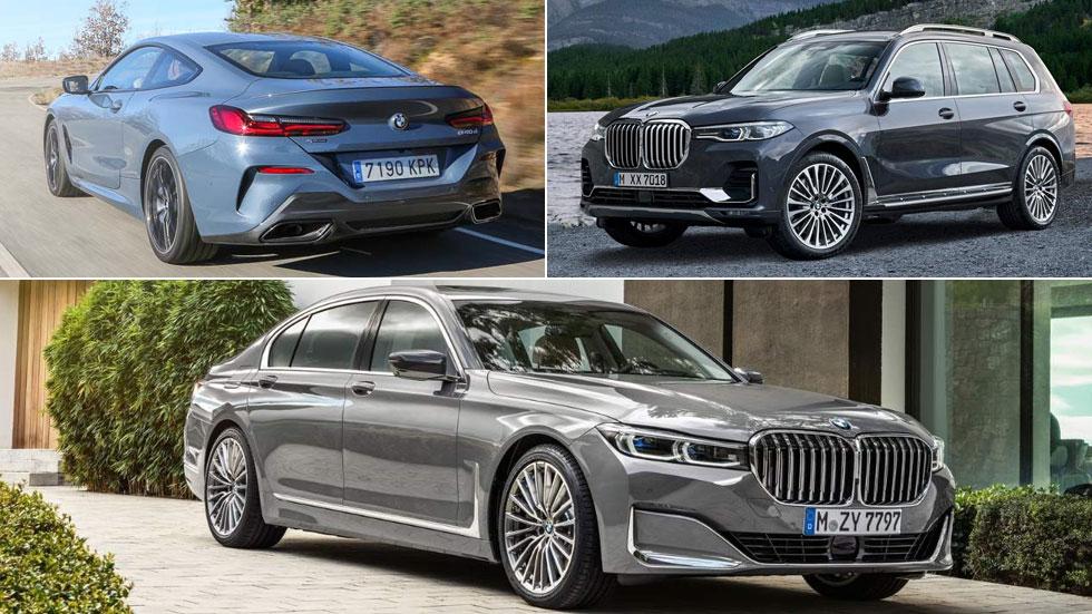 Nuevos BMW Serie 7, Serie 8 y X7: todos los precios para España