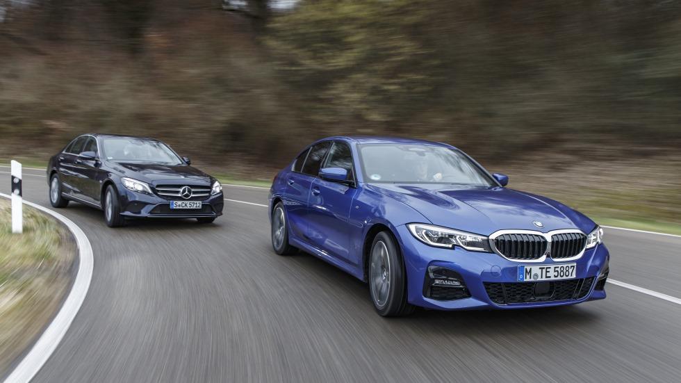 BMW 320d vs Mercedes C 220 d: ¿cuál es la mejor berlina media diésel?