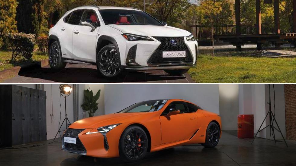 """Lexus UX 250h """"Engawa"""" y LC 500h """"Matte Prototype"""": nuevas versiones del SUV y el coupé"""