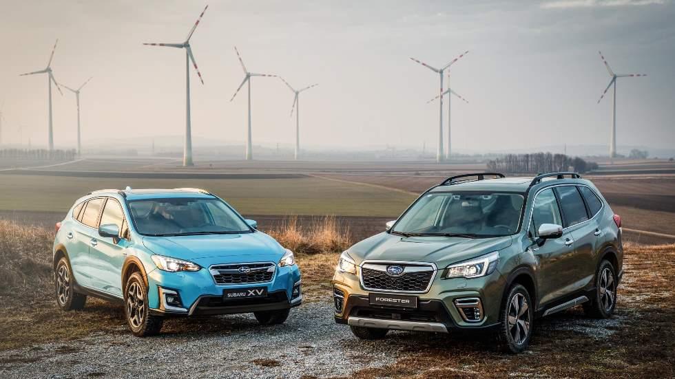 Subaru Forester y XV Eco-Hybrid 2019: así son los nuevos SUV con etiqueta ECO