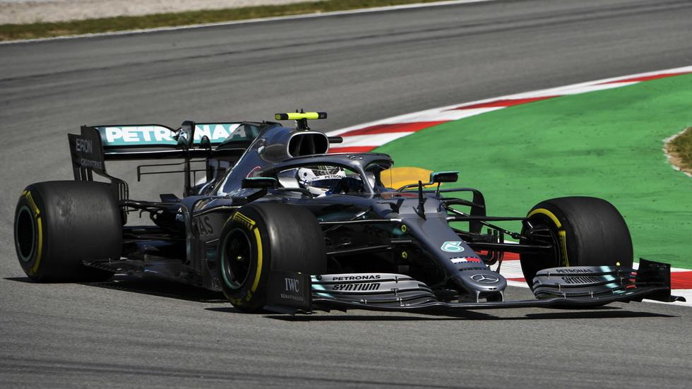 GP de España de F1 (FP1): Bottas el más rápido, Sainz sexto
