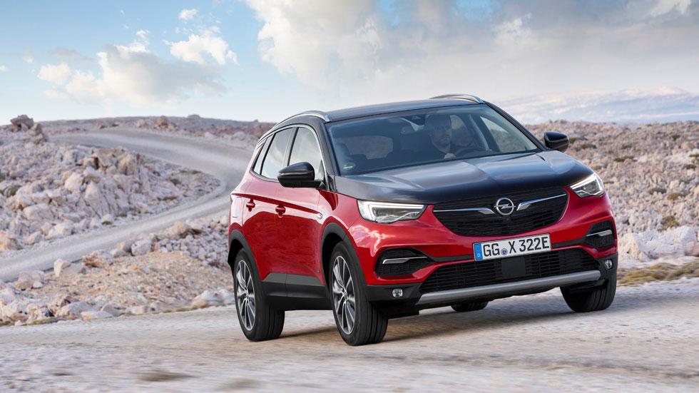 Opel Grandland X Hybrid4: así es el nuevo SUV electrificado