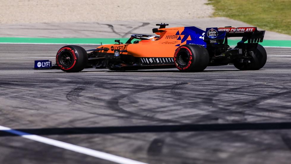 GP de España de F1: Sainz estrena motor