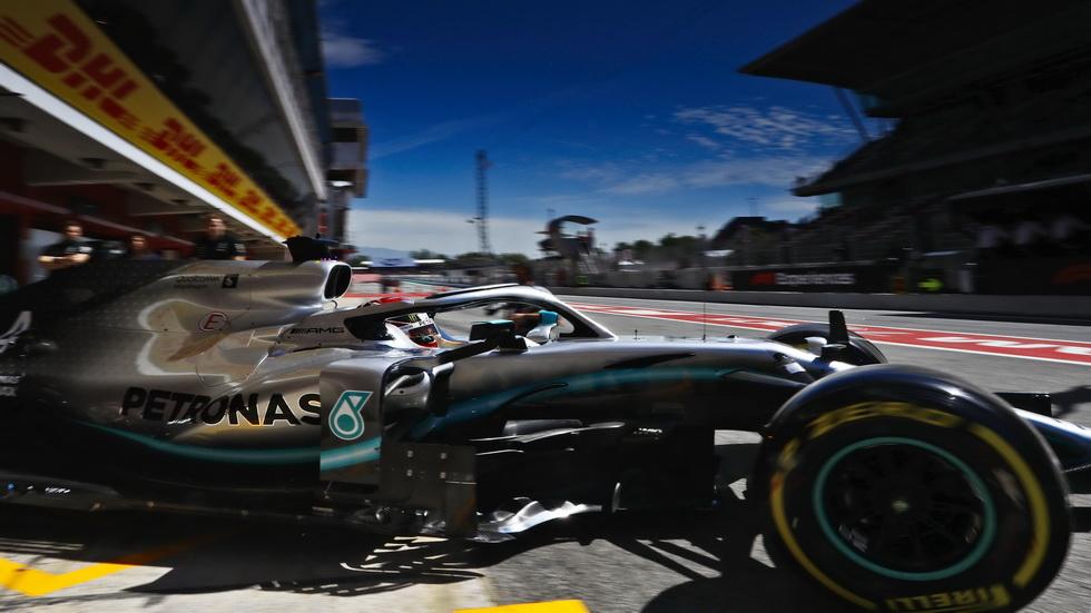 GP de España de F1 (FP3): Lewis Hamilton, en cabeza del pelotón