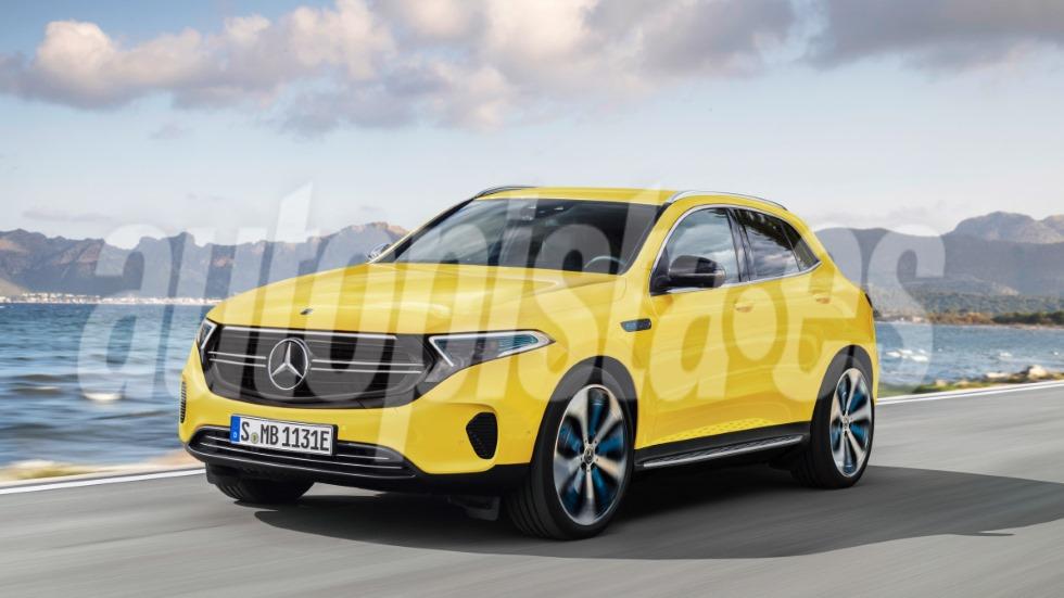 Mercedes EQA 2020: todo sobre el SUV eléctrico basado en el próximo GLA