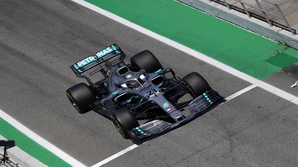 Test Barcelona F1 día 2: Mazepin con el Mercedes, el más rápido