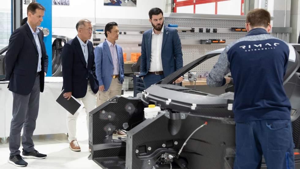 Hyundai y Rimac se asocian para desarrollar coches eléctricos