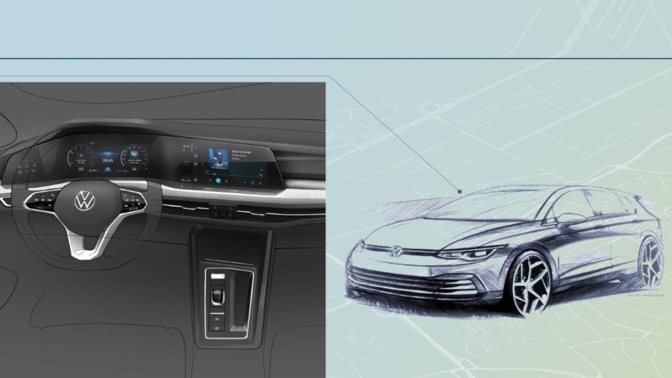 VW Golf 8 2020: primeras fotos y datos oficiales del nuevo compacto