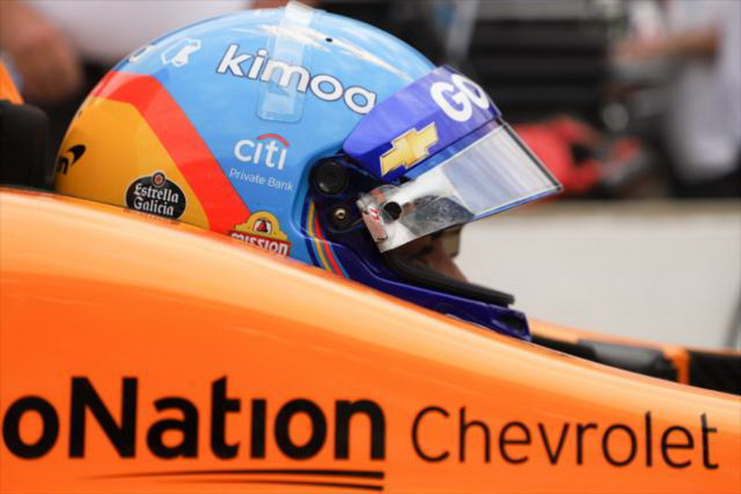 500 Millas de Indianápolis: semana complicada para Fernando Alonso