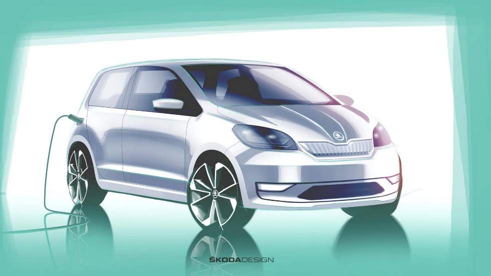 Skoda Citigo 2020: primeros datos e imagen del nuevo coche eléctrico