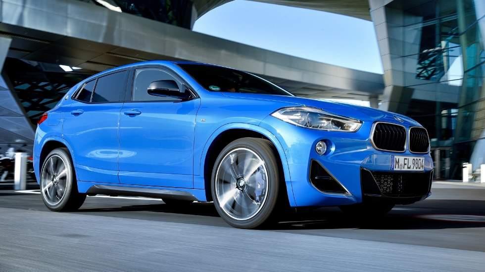 BMW X2 M35i: así es la versión más potente y deportiva del SUV alemán