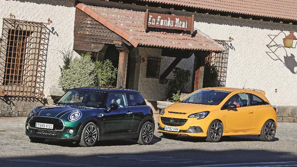 Mini Cooper vs Opel Corsa GSI: pequeños, de gasolina y con carácter