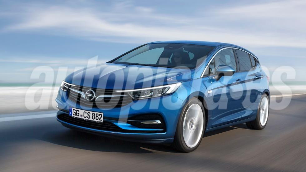 Opel Astra 2019: nuevos datos y foto del compacto que llega en otoño