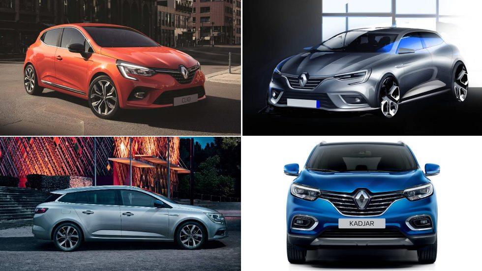 Todo el calendario de nuevos Renault: Clio 2019, Captur, Mégane 2020, Kadjar 2021…