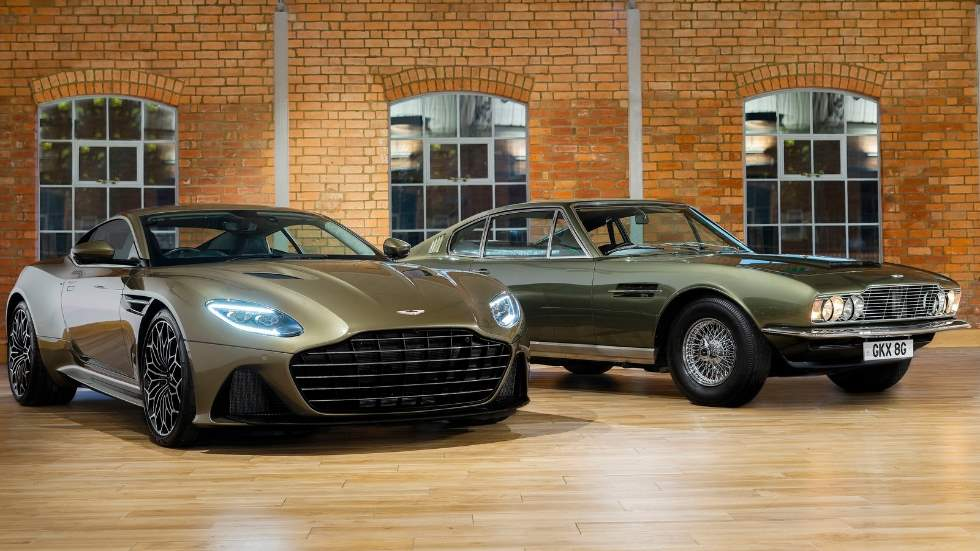 Así es el Aston Martin DBS Superleggera OHMMS Edition que rinde tributo a James Bond