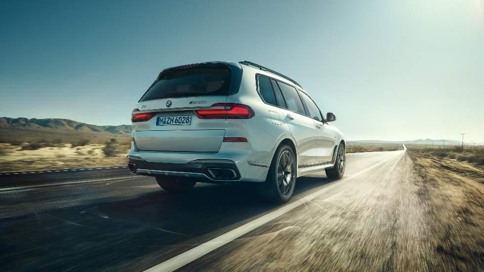 BMW X5 y X7 M50i 2019: nuevo motor V8 para los SUV
