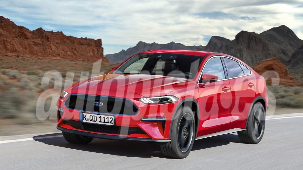 Ford Mach E 2020: así será el nuevo SUV, un Kuga eléctrico con diseño Mustang