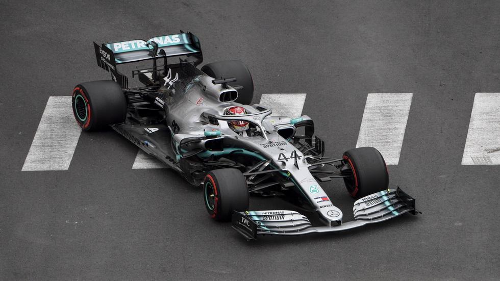 GP de Mónaco de F1 (FP1): Lewis Hamilton, el más rápido