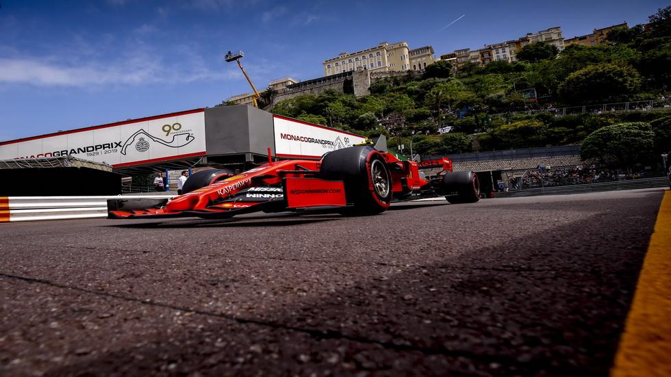 GP de Mónaco de F1 (FP3): el monesgasco Leclerc, el más rápido en sus calles