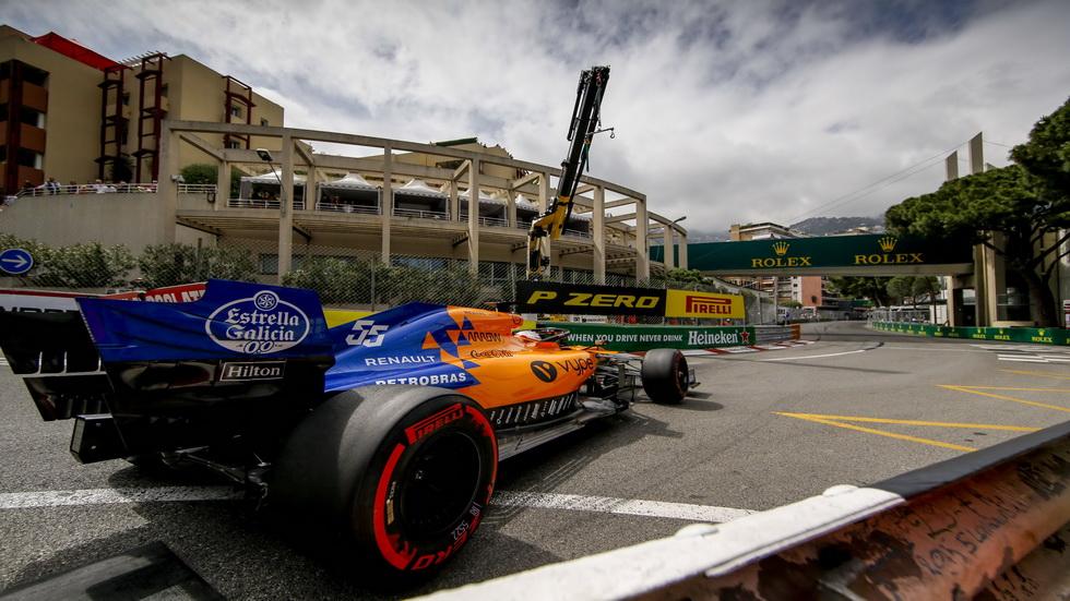 GP de Mónaco de F1: Carlos Sainz noveno en calificación