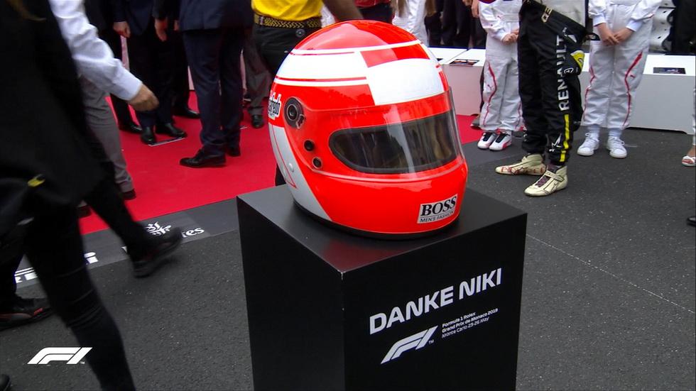 GP de Mónaco de F1: homenajes a Niki Lauda