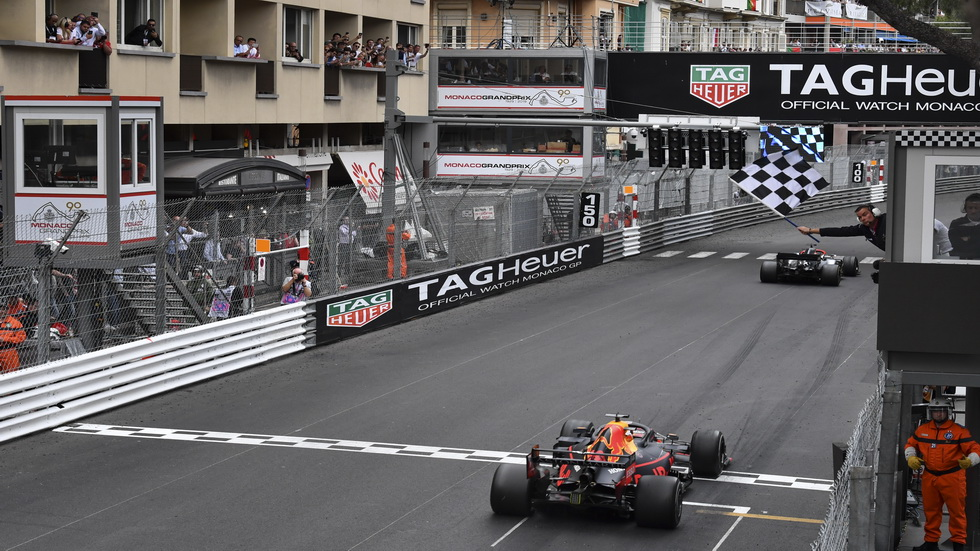 GP de Mónaco de F1: victoria de Hamilton a pesar de sus neumáticos