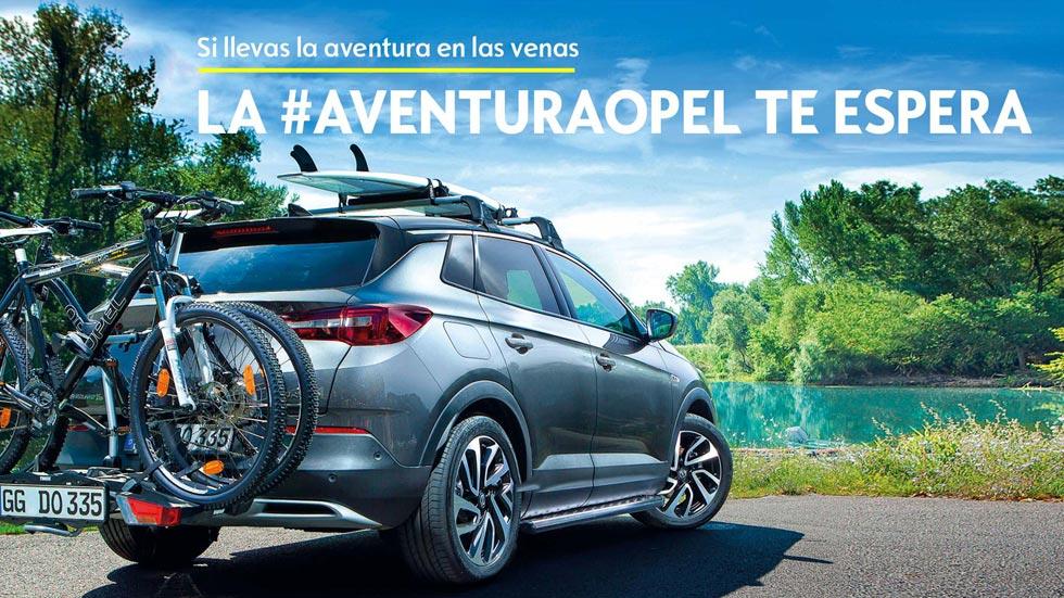 ¿Quieres pasar un fin de semana de aventura con el Opel Grandland X?