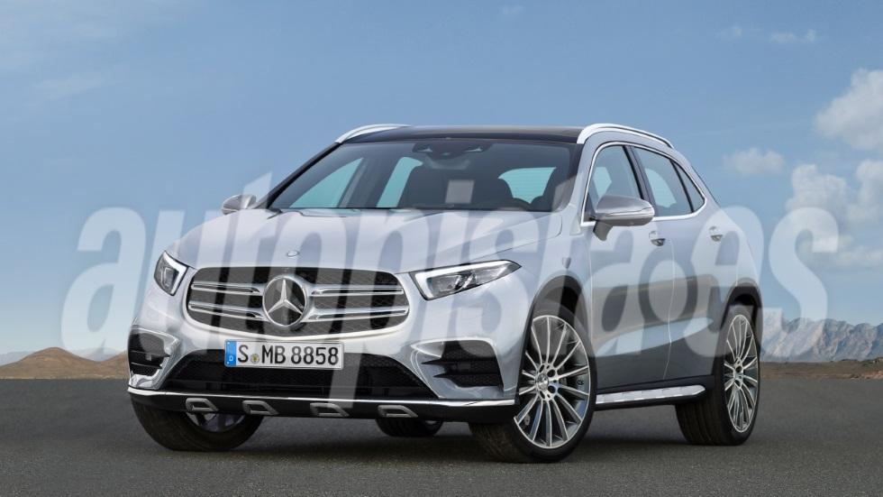 Mercedes GLA 2020: así es la nueva generación del SUV, basada en el último Clase A