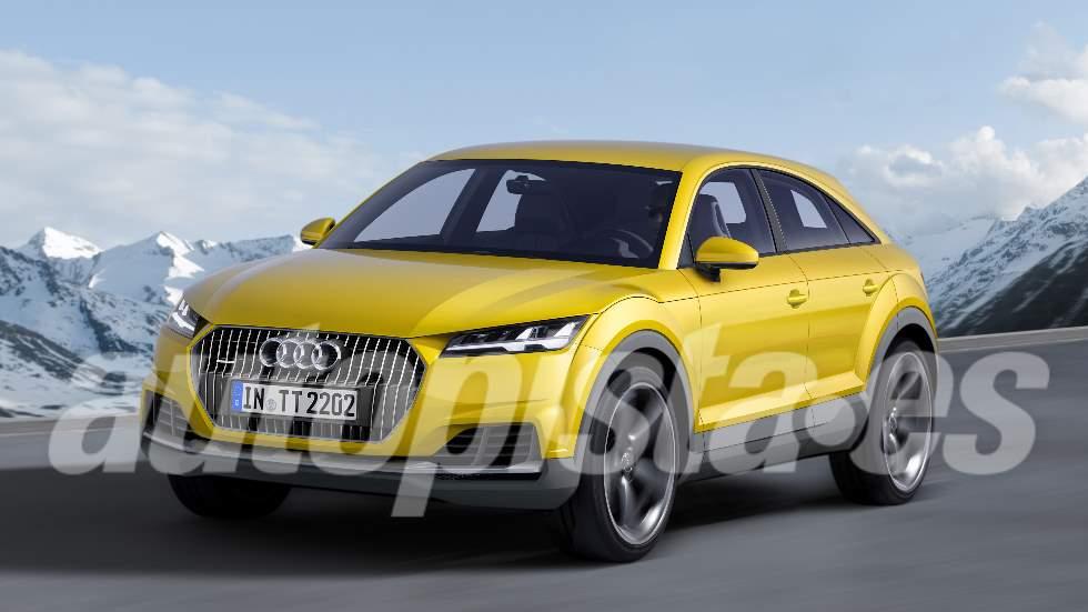 Audi TT 2022: el icono deportivo se convertirá en un SUV eléctrico
