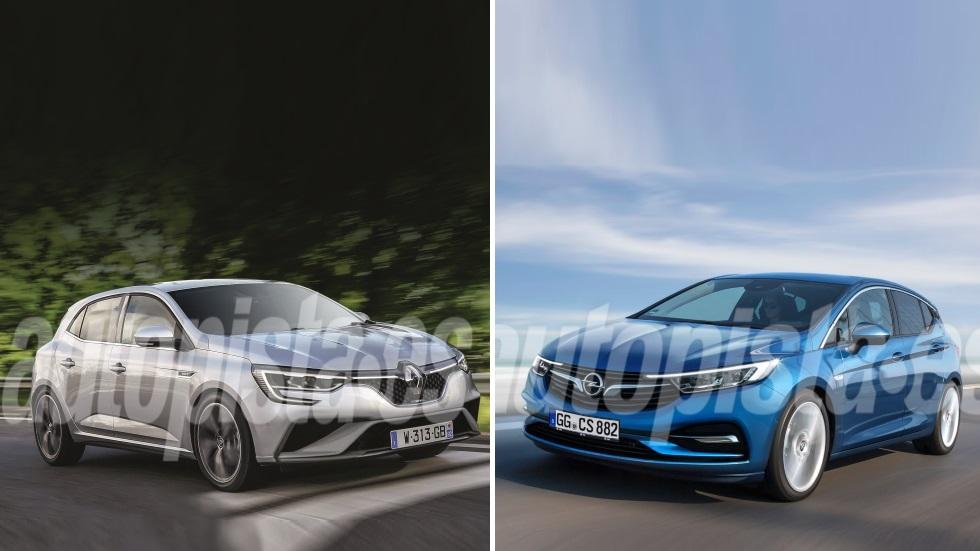 Opel Astra 2019 vs Renault Mégane 2020: el gran duelo de nuevos compactos