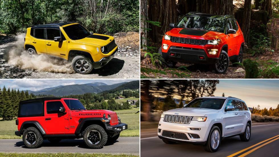 Todos los Jeep híbridos y eléctricos que llegan: Renegade, Compass, Wrangler…