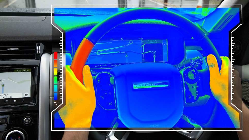 Así es el volante que te da calor o frío para ayudarte girar a izquierda o derecha