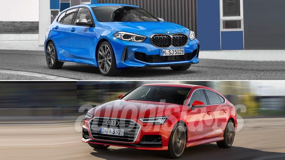 Audi A3 vs BMW Serie 1 2019, ¿cuál es mejor?: los nuevos compactos, cara a cara