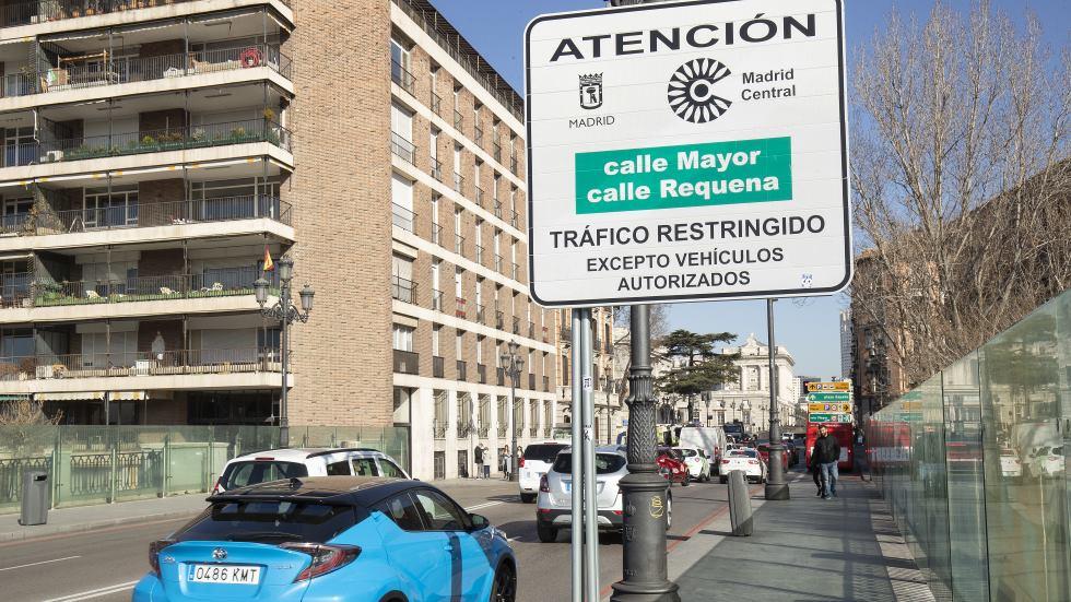 ¿Suspendió Madrid Central sus multas por la campaña electoral? Ahora sí llegan…