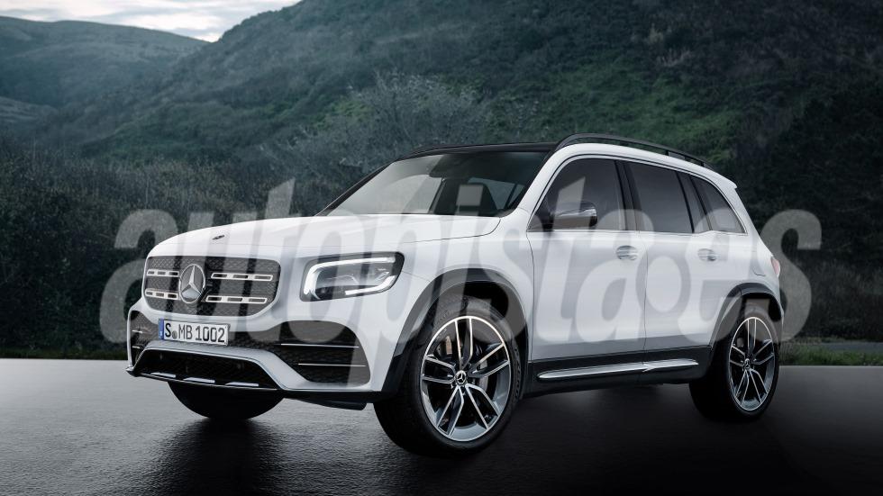 Mercedes GLB 2020: más fotos y datos del nuevo SUV que llega a final de año