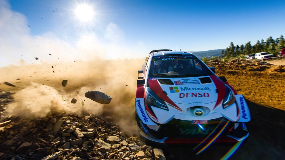 Rally de Portugal 2019 (viernes): Tänak lidera, Sordo con problemas mecánicos