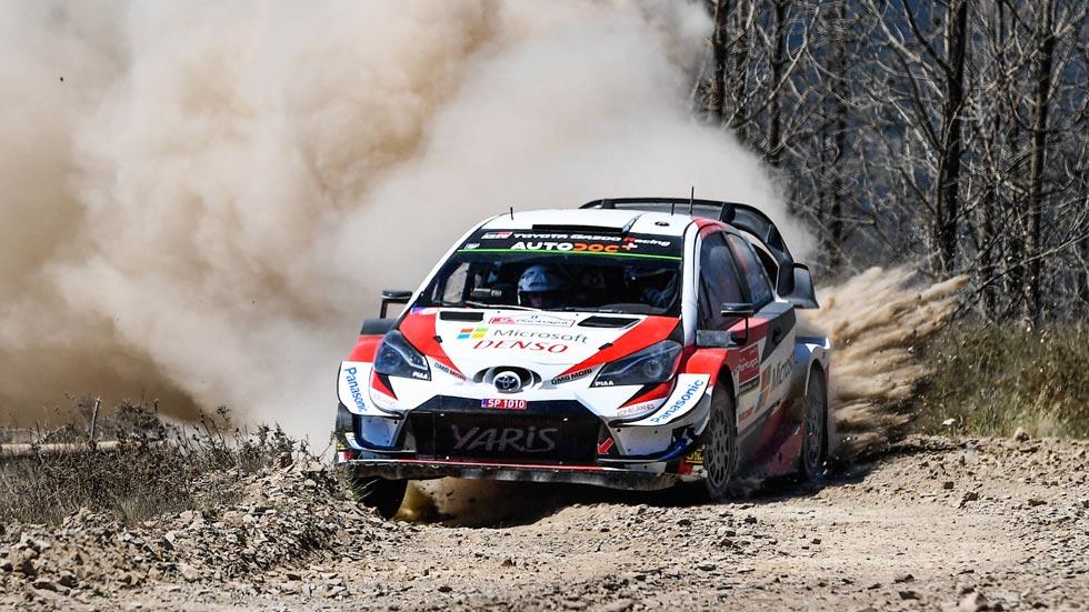 Rally de Portugal 2019 (sábado): Tänak sigue al frente; Meeke y Neuville al acecho