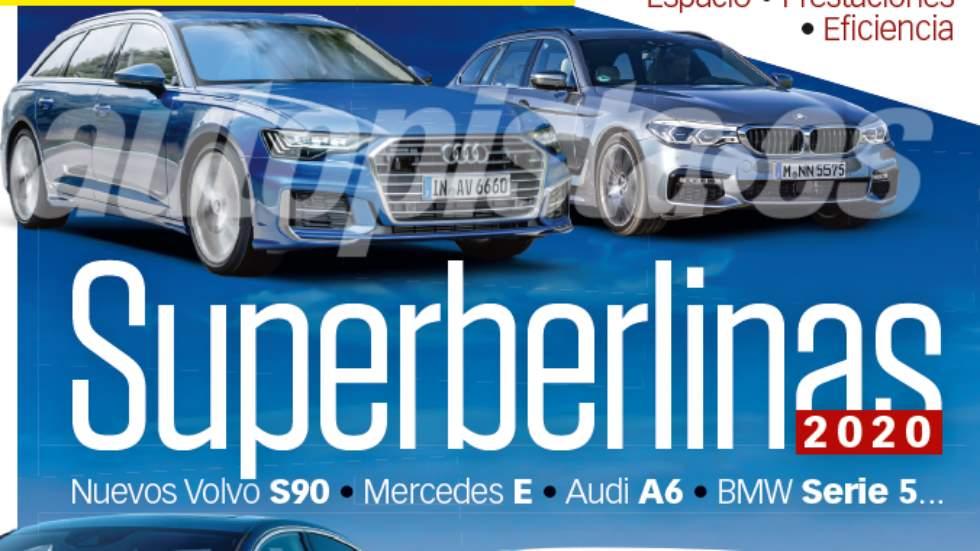 Revista Autopista 3.103: así serán los nuevos BMW Serie 5, Audi A6, Mercedes Clase E…