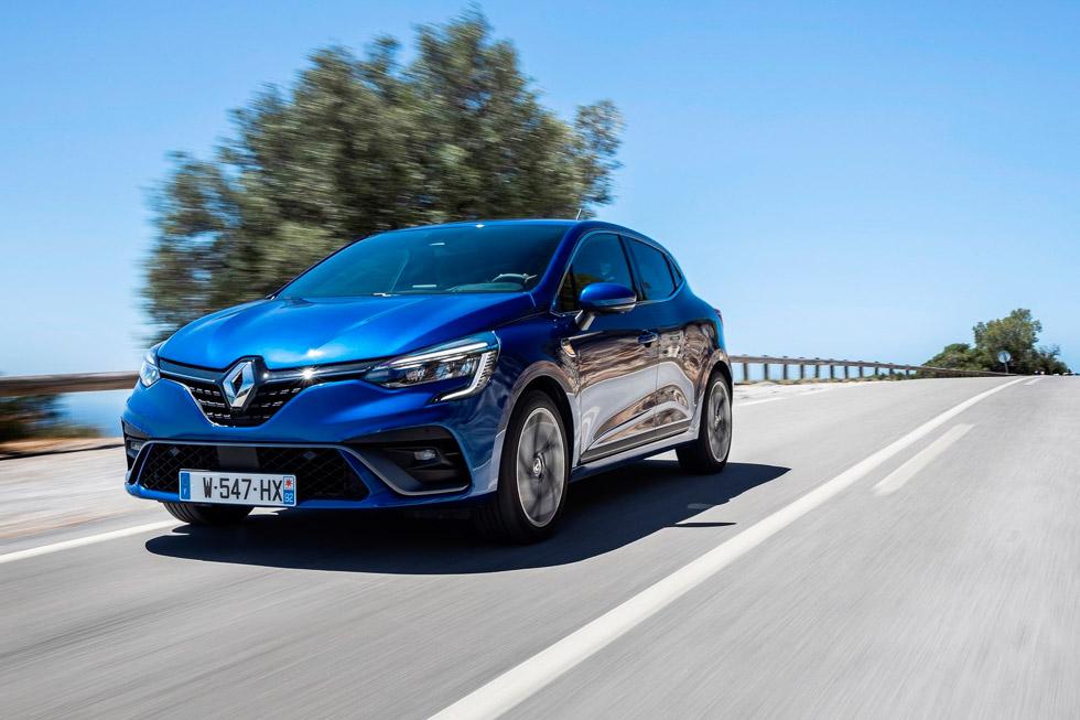 Renault Clio 2019: nuevas fotos oficiales del utilitario, que estrena versión híbrida