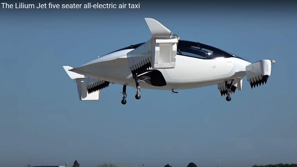 El primer taxi volador ya vuela: para cinco pasajeros y hasta 300 km/h (Vídeo)
