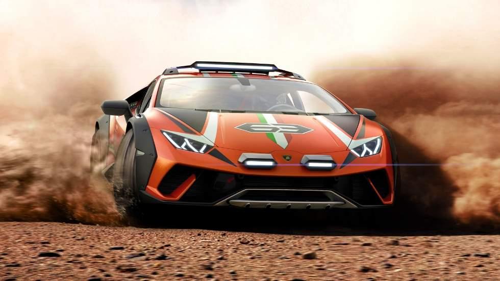 """Lamborghini Huracán Sterrato Concept: el """"toro"""" deportivo para ir al campo"""