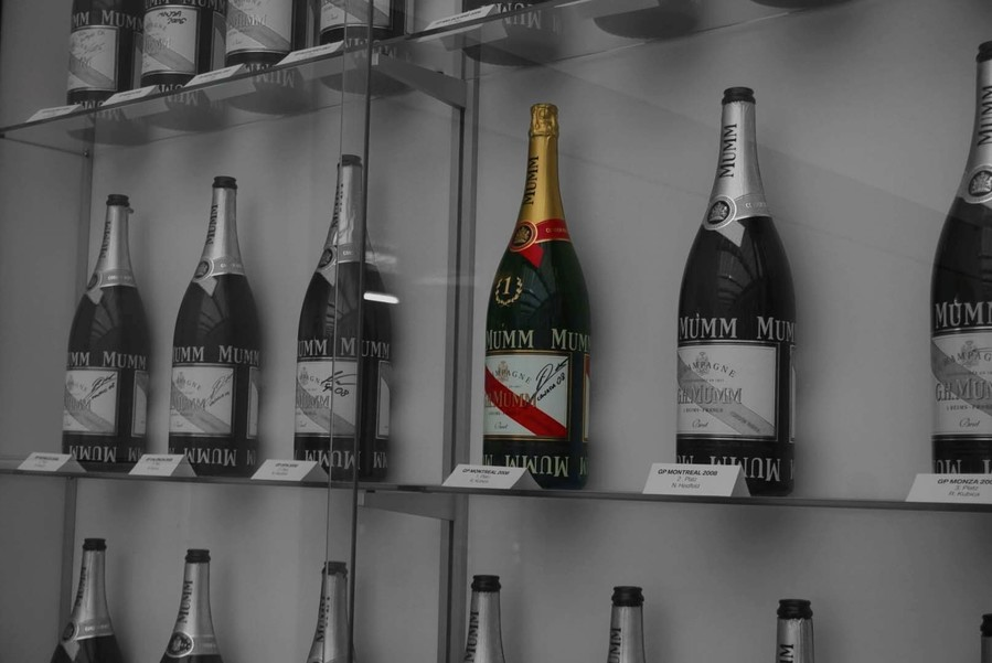 Robert Kubica, BMW Sauber y su historia con el champán