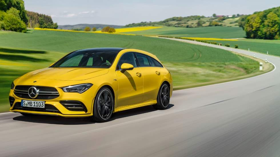 Mercedes-AMG CLA 35 Shooting Brake: un familiar coupé de lo más deportivo