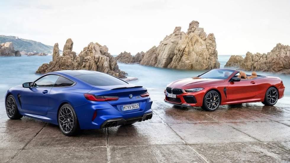 BMW M8 Competition Coupé y Cabrio 2019: con 625 CV bajo el capó