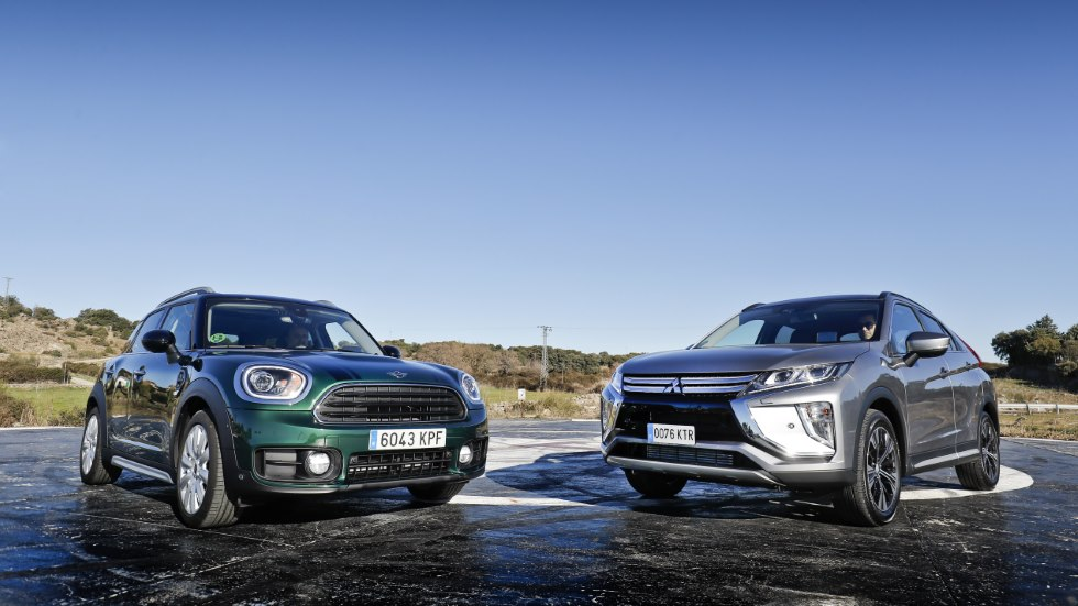 Comparativa: Mini Countryman vs Mitsubishi Eclipse Cross, ¿qué SUV diésel es mejor?